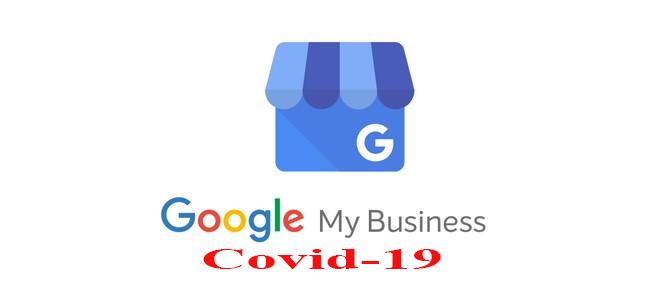 Google my business e covid-19